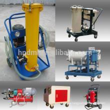 Cartuchos de filtro de aceite de deshidratación de coalescencia Fabricante de carros de filtro de aceite portátiles hechos en China