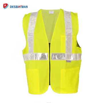 Durable Customized Motorcycle Reflective Safety Vest