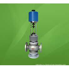 Высокая температура Электрический трехходовой распределительный поток регулирующий Клапан (ZDLX)
