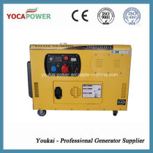 Low Oil Consumption 10kw Three Phase Silent Diesel Generator