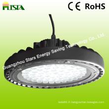 Lumière élevée de baie de 100W LED avec le style d'UFO