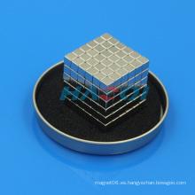 N35 Ni capa de tierras raras imán Magic bloque magnético