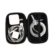 PU Portable Kopfhörer Zubehör Tragetaschen Schwarz Kopfhörer Tasche RS Zipper Ohrhörer Headset Kopfhörer Aufbewahrungsbox