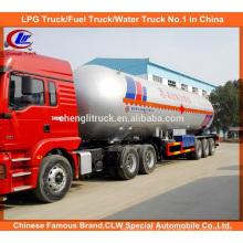 56cbm LPG Semi-reboque de tanque 56000L LPG Trailer