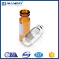 amber borosilicate glass snap vials gc vial 1.8 ml