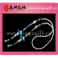 Mode-Accessoire Bling Sparkly Crystal Bead Brille Umhängeband