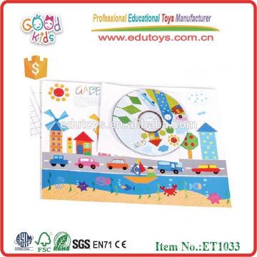 2015 nouveaux jouets éducatifs d'apprentissage précoce Froebel Gabe, jouets populaires en bois gabe éducatifs, jouets gabe à chaud