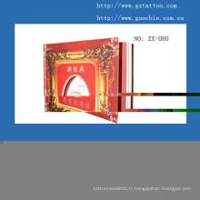Livre d'enseignement de maquillage permanent (ZX080)