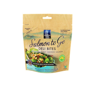 Ikan Somked beg Salmon Packaging