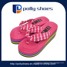 Новый дизайн высокой пятки новые женские сандалии моды