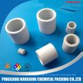 Embalagem química de torre absorvente Anel Raschig Cerâmico