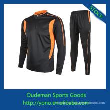 Servicio DEL OEM camisetas de fútbol de manga larga con precio barato por alibaba express