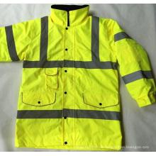 100% Polyester Hallo Vis Sicherheit Jacken Treffen En, Hersteller Preis