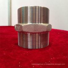 Dn15 шестигранный ниппель из нержавеющей стали