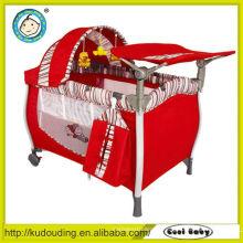 Großhandel neue Alter Produkte Indoor automatische Swing Baby Laufstall Kinderbett