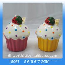 Cutely cerámica toothpick titular con diseño de helado