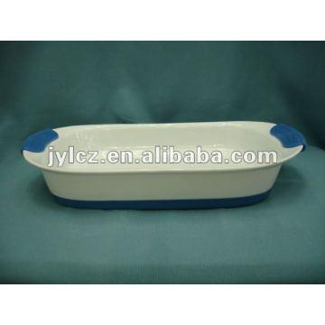 Ustensiles de cuisson rectangulaires avec poignée et base en silicone