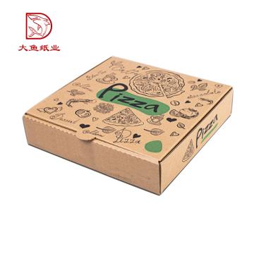 Heißer Verkauf nehmen oem recyclebaren personalisierten gewölbten Pizzakasten an