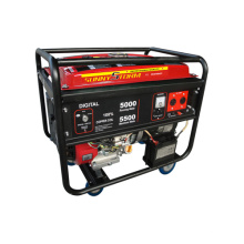 Gerador portátil da gasolina de 4kw / 5kw / 6kkw Digital com CE