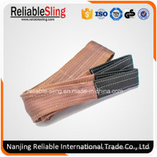 Ce Approved 6t Duplex Webbing Sling with Double Eyes