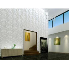 Plastic Wall Cladding Textured Exterior 3D Wall Panels Outd