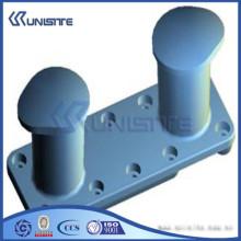 Steel marine mooring bollard