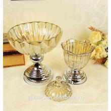 cheap modern decorative crystal fruit plate /glass plate for home decoration