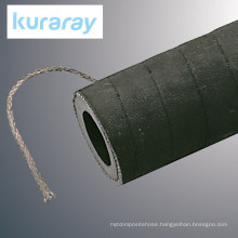Sandblasting hose with ground wire. Manufactured by Kuraray. Made in Japan (sand blast hose)