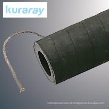 Mangueira de jateamento com fio terrestre. Fabricado por Kuraray. Feito no Japão (mangueira de borracha resistente ao calor)