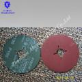 Resina sobre disco de fibra de óxido de aluminio fibra de disco de fibra de resina de cerámica