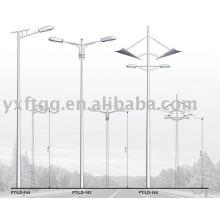 Luz solar de la calle de 6-12meters sola o doble del brazo