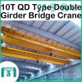 2016 Qd Model Overhead Crane with Hook Capacity 10 Ton