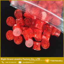 Großhandels-multi Farbe zerbrochenes gebrochenes kühles Ohr Tunel Piercing-Ohr-Stecker 8mm Acryl
