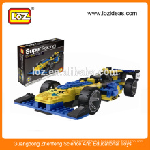 LOZ Super racing car building block toys