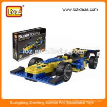 ЛОЗ супер гоночный автомобиль строительный блок игрушки