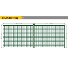 PVC Coated Contruction Temporary Fencing for Sale