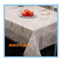 Kunststoff PVC Weiß Spitze Tischdecke