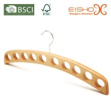 Деревянная вешалка для одежды (MP07) для шарфа