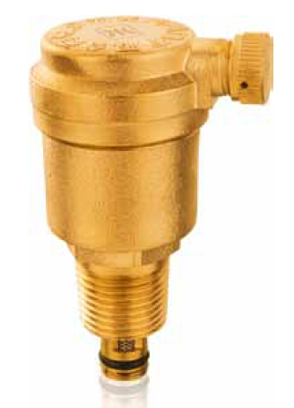 brass exhausting valve