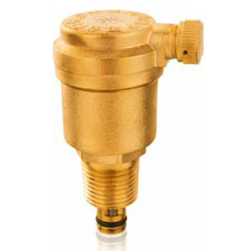 Forged brass exhausting valve - thread ended - cw614n