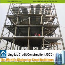 China Construção clara galvanizada Jdcc do Multi-Storey da construção de aço