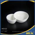 Уникальные продукты 2016 из фарфоровых блюд из белой керамики