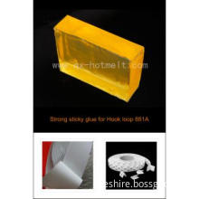 Strong Sticky Hot Melt Adhesive for Velcro Tapes