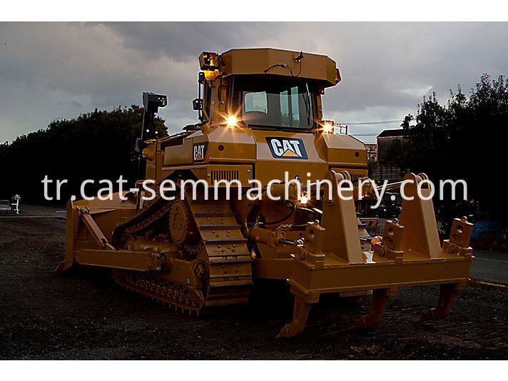 used Cat D7R crawler bulldozer
