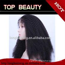 Transporte rápido, preço de saída da fábrica encaracolado afro perucas para wome preto
