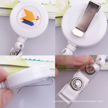 Дизайнер выдвижной держатель значка тянуть катушку