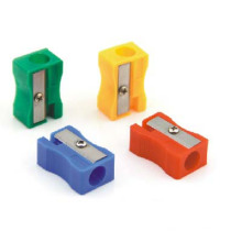 Plastic Pencil Sharpener for Stationery Set