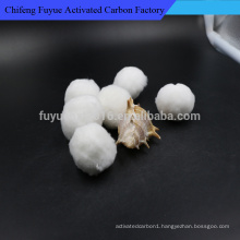 3d Hollow Conjugated Siliconized Polyester Staple Fiber Ball