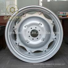 Llanta de rueda agrícola, ruedas cosechadoras con alto rendimiento