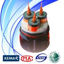 Câble d'alimentation de qualité de l'état Grid 35kV 3 * 300sqmm